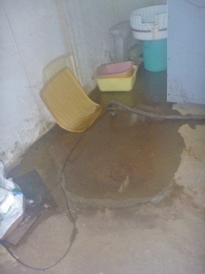 Water in a Salem Oregon basement