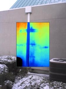 More Infrared located leakage
