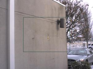 Visual view of the EFIS stucco siding