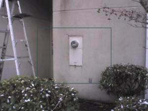 Infrared finds leakage in Stucco