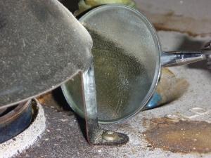 Testing Back draft on a home inspection in Salem Oregon